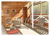 Covered Getaway Deck